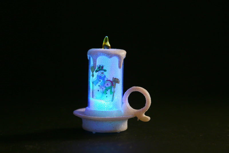 Christmas LED Tea Candle Light Multicolo