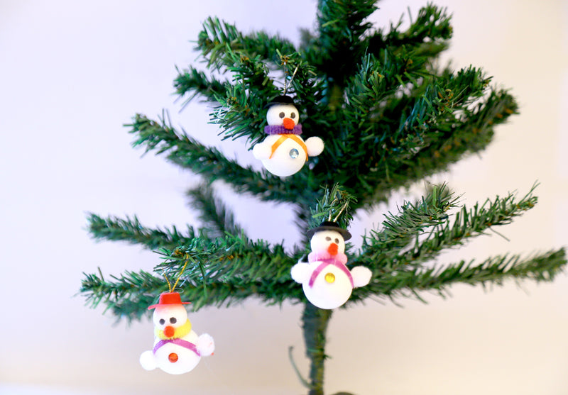Snowman Pack of 6 Tree Decoration