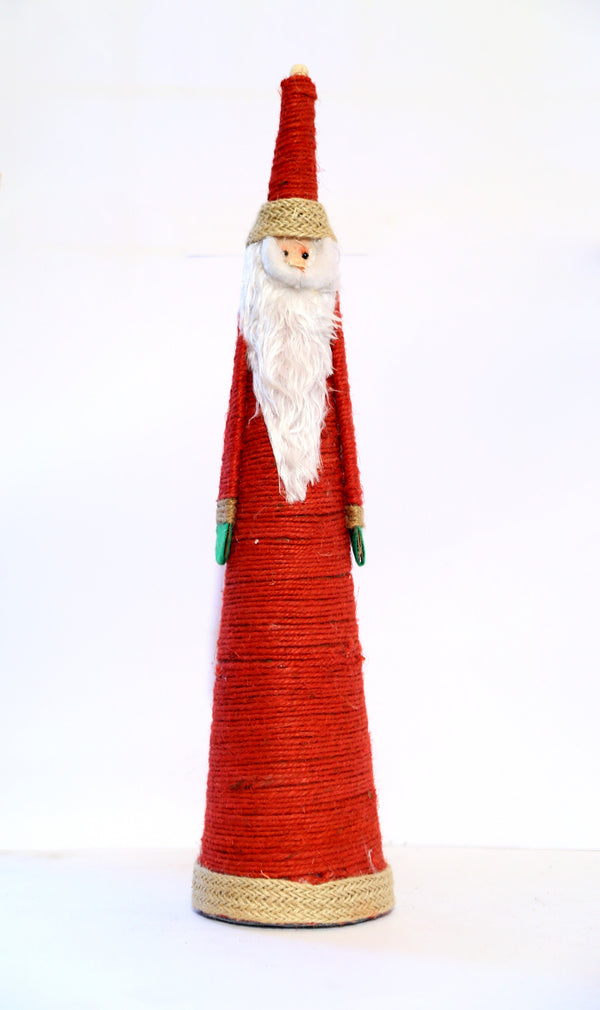 Santa Claus Cone Shaped Figurine