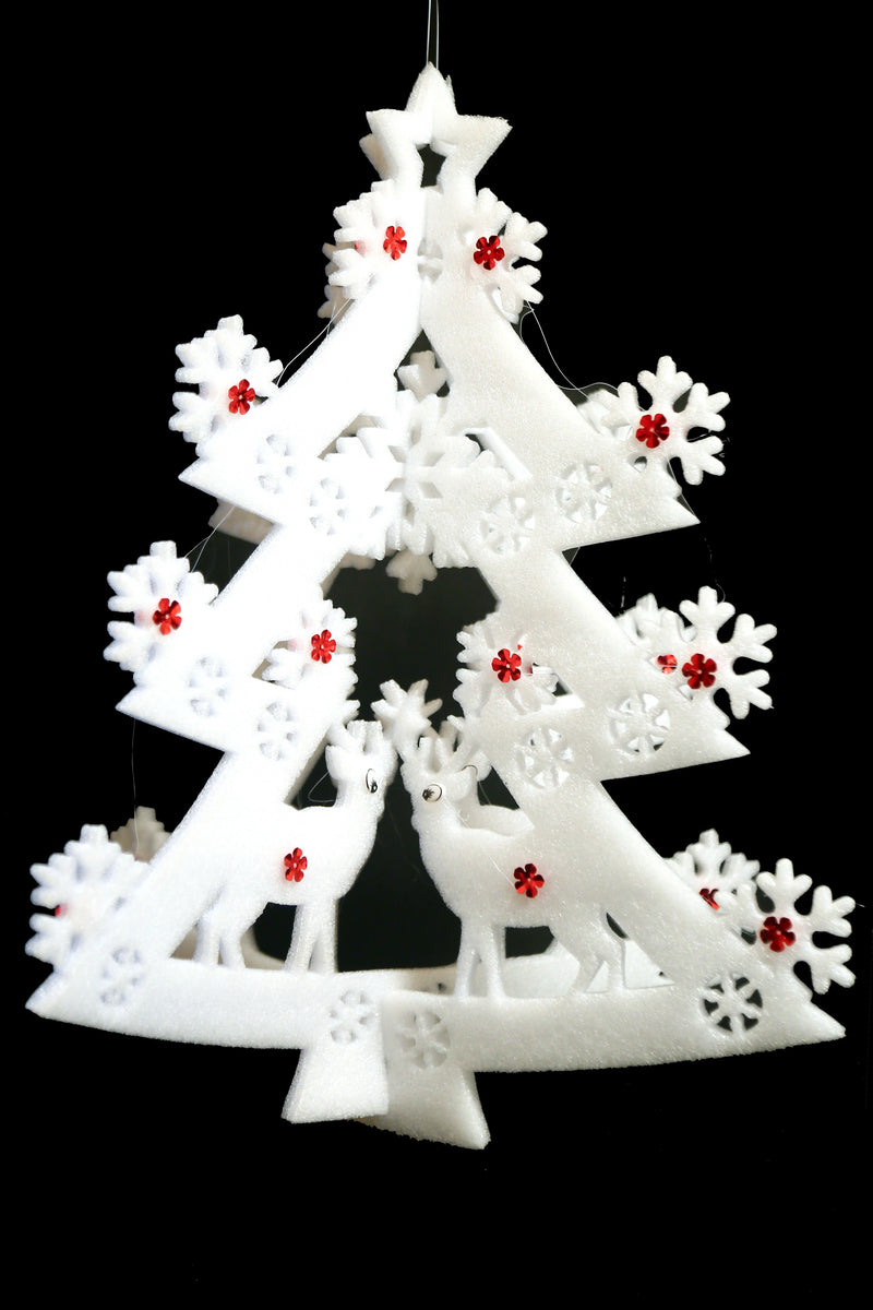 Hanging Foam Christmas Tree Decoration (Two types)