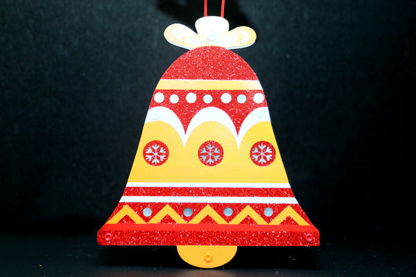 Christmas Bell Lighting Wall Decoration Board