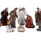 Realistic Nativity/Crib Set 13 Inches