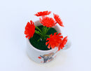 Artificial Table-Top Flower Pot