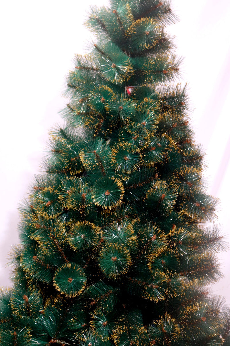 Golden Glitter tipped Christmas Tree (5 feet and 6 feet)