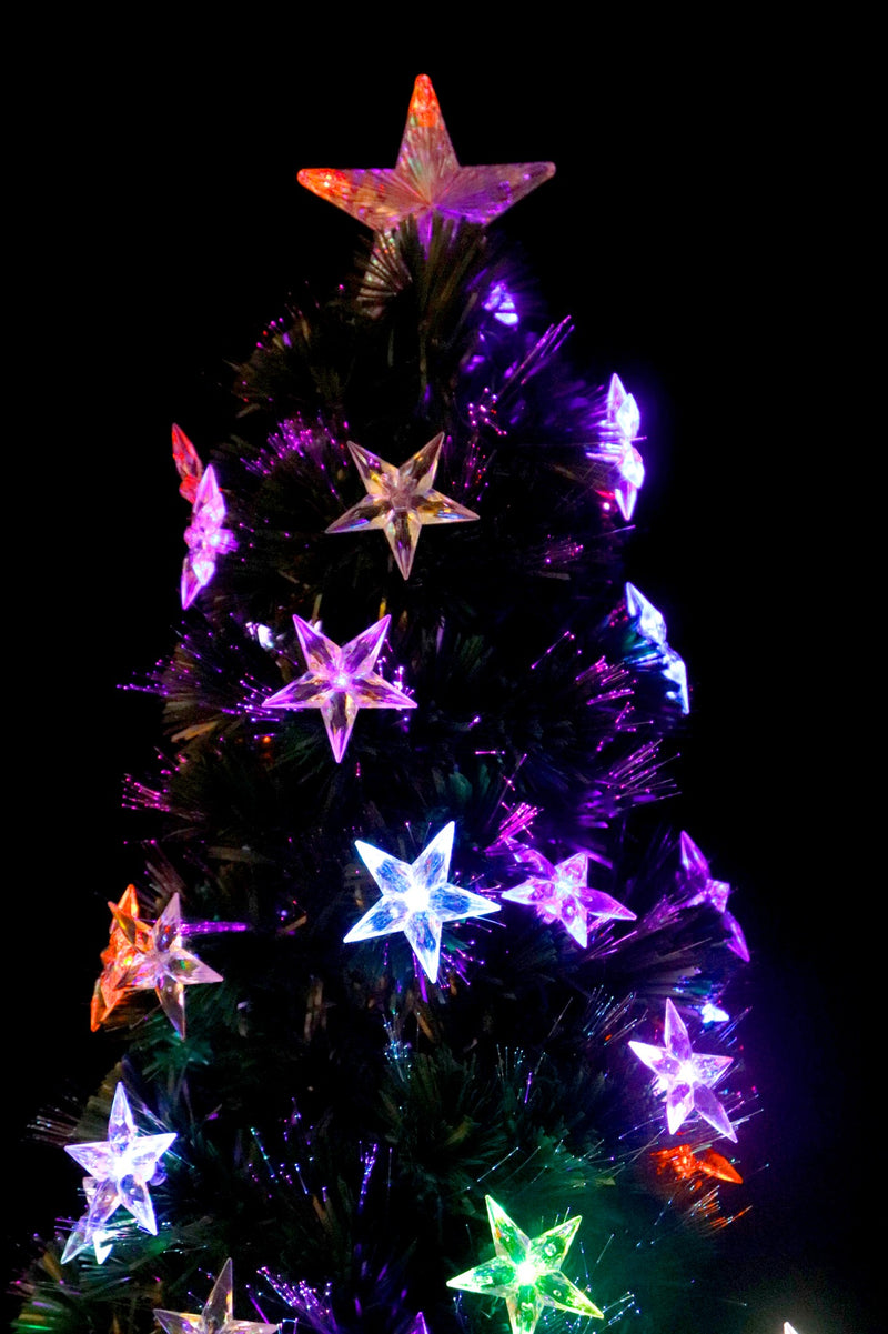 Pre-Lit LED Christmas Tree (4 Feet) (3 types available)