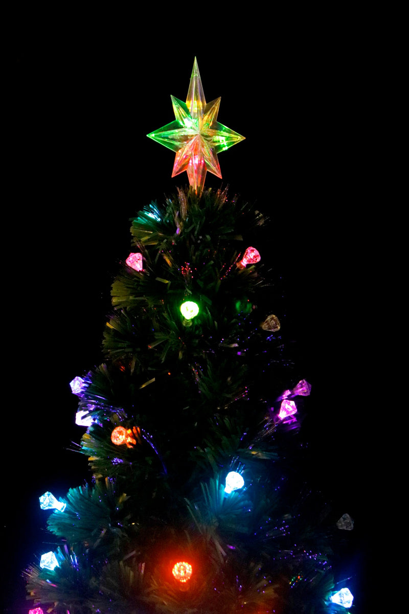 Pre-Lit LED Christmas Tree (5 Feet) (3 types available)