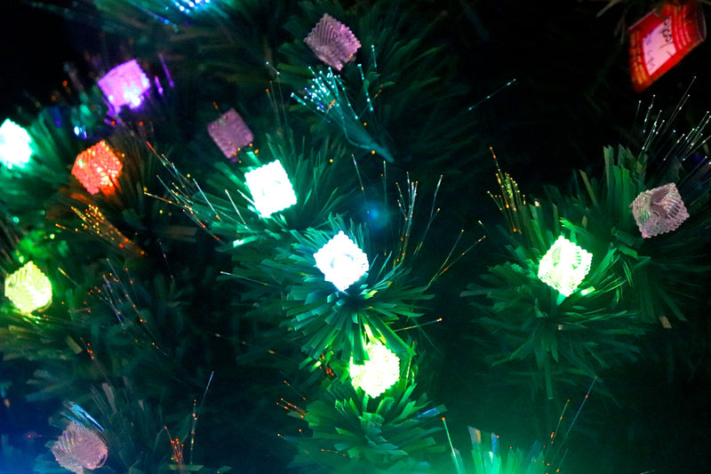 Pre-Lit LED Christmas Tree (7 Feet) (3 types available)