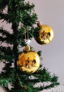 Ball decoration Tree Ornament Pack of 24  (Gold, Red, Silver))