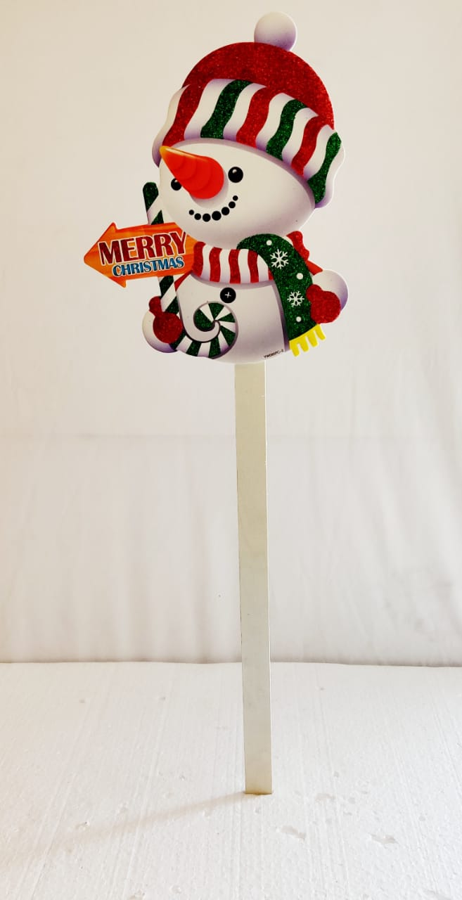 Snowman Christmas Sign Board