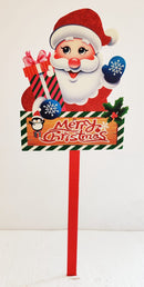 Santa Claus Christmas Sign Board