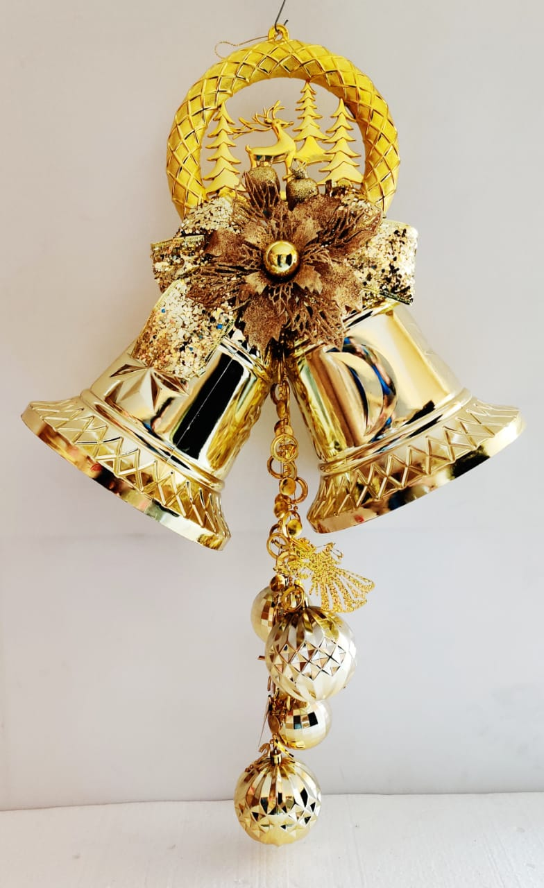 Christmas Bells with Hanging Butterfly and Bells decoration