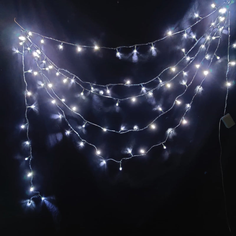 LED Christmas String Lights (12 m and 45 m) (White Light)