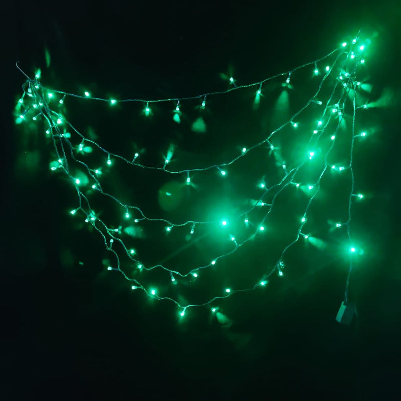 LED Christmas String Lights (12 m) (Green)
