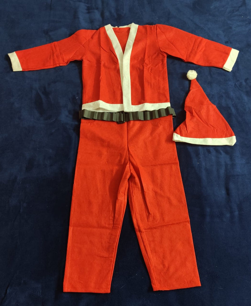 Santa Dress for ages 6-8 (Two Types Available)