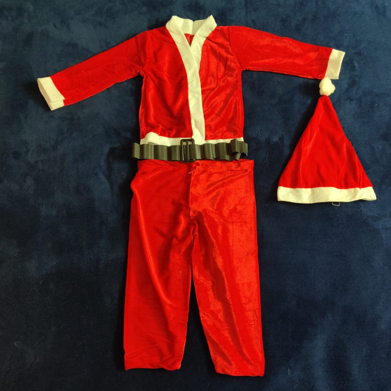 Santa Dress for ages 2-4 (Two Types Available)