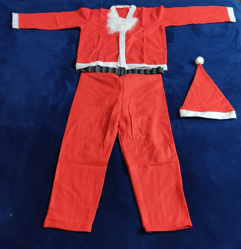 Santa Dress for ages 9-13 (Two Types Available)