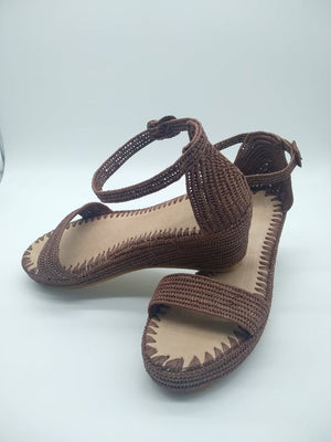 Handmade Raffia Shoes
