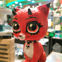 Load image into Gallery viewer, Evil Red Kitty 16cm