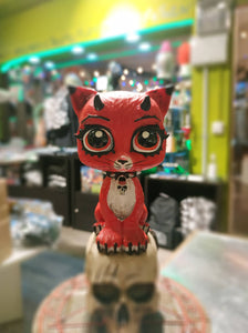 Evil Red Kitty 16cm
