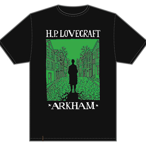 T-shirt Visit Arkham Lovecraft