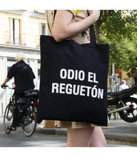 Load image into Gallery viewer, Tote bag ODIO EL REGGAETON