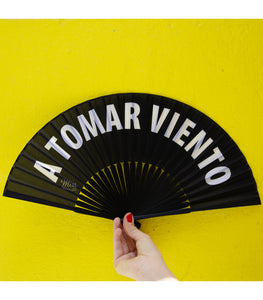 "Hand Fan ""A tomar viento"""