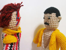 Load image into Gallery viewer, Mercury and bowie wooldoll by Kutuleras