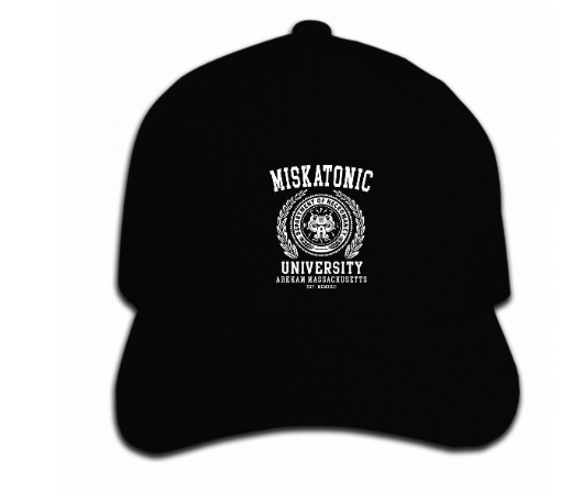 Miskatonik Cap  Arkham hat Departament of necromancy