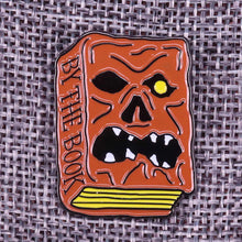 Load image into Gallery viewer, Necronomicon Book Pin Badge