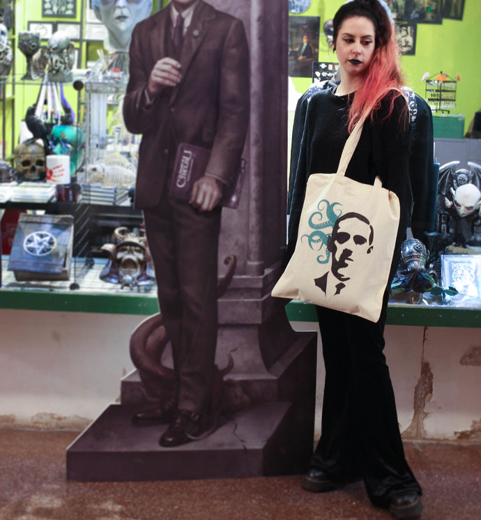 LOVECRAFT TOTE BAG with tentacles
