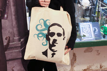 Load image into Gallery viewer, LOVECRAFT TOTE BAG with tentacles
