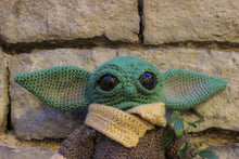 Load image into Gallery viewer, Baby Yoda wool doll by Kutuleras
