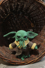 Load image into Gallery viewer, Baby Ythulhu wool doll by Kutuleras