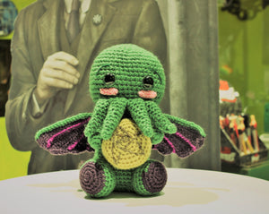 Cthulhu with cookie wool Doll amigurumi