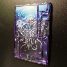 "Load image into Gallery viewer, Glass mosaic magnet  "" Yog sothoth """