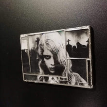 "Load image into Gallery viewer, Glass mosaic magnet  "" Night of the Living Dead """