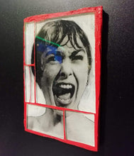 "Load image into Gallery viewer, Glass mosaic magnet  "" Janet Leigh """