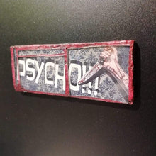 "Load image into Gallery viewer, Glass mosaic magnet  ""Psycho"""