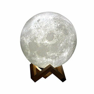 Moon Lamp 15 cm diameter.