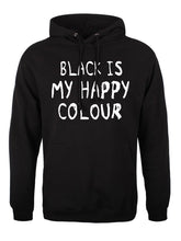 "Load image into Gallery viewer, Sudadera ""Black is my happy colour"""