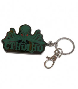 Cthulhu metal key ring