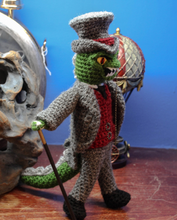 Load image into Gallery viewer, Lord Godzilla Steampunk wooldoll