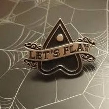 Let's Play Pin Badge