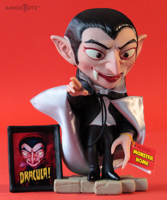 Dracula Monster Home Vinyl Figure
