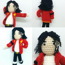 Load image into Gallery viewer, Michael Jackson Wool doll