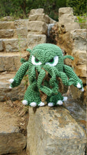 Load image into Gallery viewer, Big Cthulhu Wool Doll