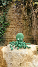 Load image into Gallery viewer, Green Octopus Doll