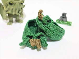 Cthulhu baby booties