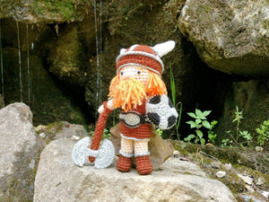 Viking Wool Doll