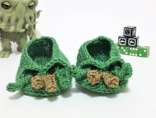 Load image into Gallery viewer, Cthulhu baby booties